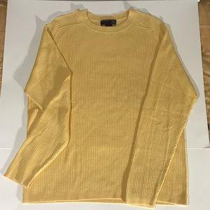 Yellow Roundtree & Yorke Sweater Large